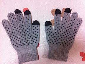 4スマホ手袋
