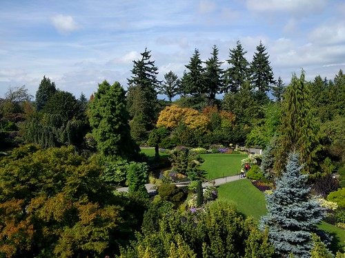Quarry Gardens in late summer