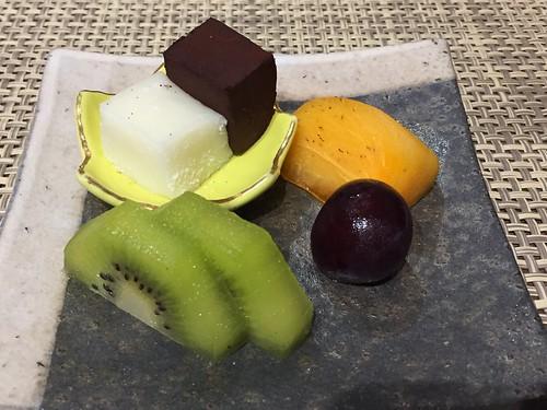 トスラブ館山ルアーナ 神無月微風コース 水菓子
