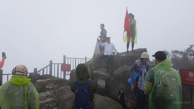 Sapa, Fansipan - at the peak