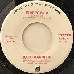 GATO BARBIERI:FIREPOWER(LABEL SIDE-A)
