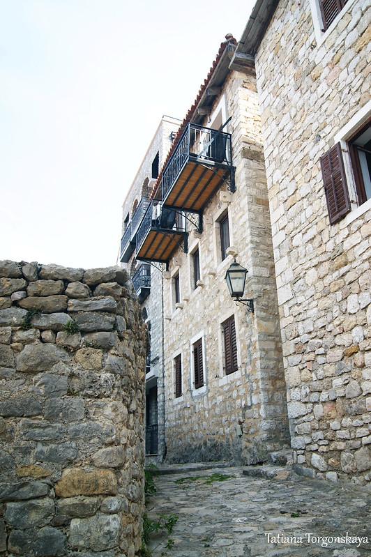 Архитектура Старого города в Улцине