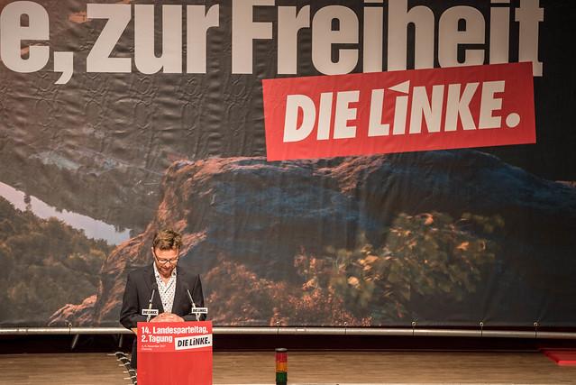 14. Landesparteitag DIE LINKE. Sachsen - #14lpt2 - 4.11.2017 Chemnitz