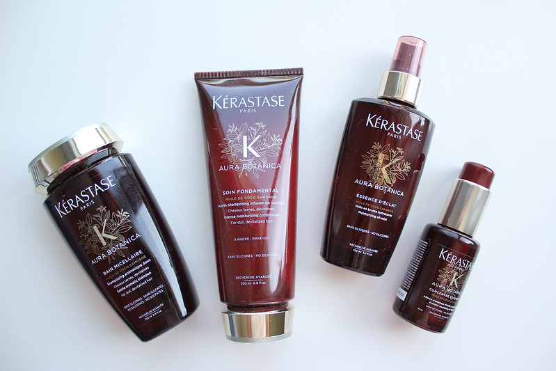 Kerastase Aura Botanica Bain Micellaire, Soin Fondamental, Essence d'Éclat, Oil Concentré Essentiel review