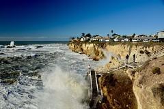 Shell Beach High Surf