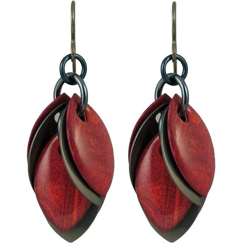 Petals to the Metal Earrings by Diana Ferguson Jewelry