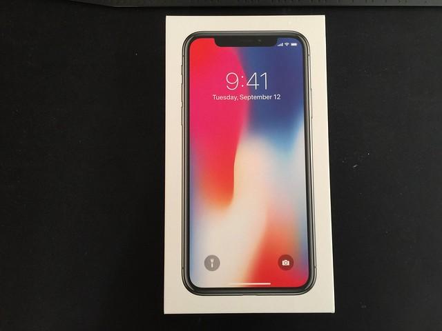 iPhone X灰黑色256Gb开箱记录 生活&旅行 第1张