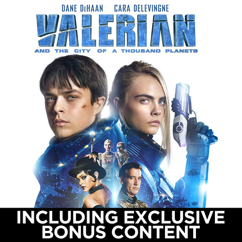 Valerian and the City of a Thousand Planets (plus Bonus Features)