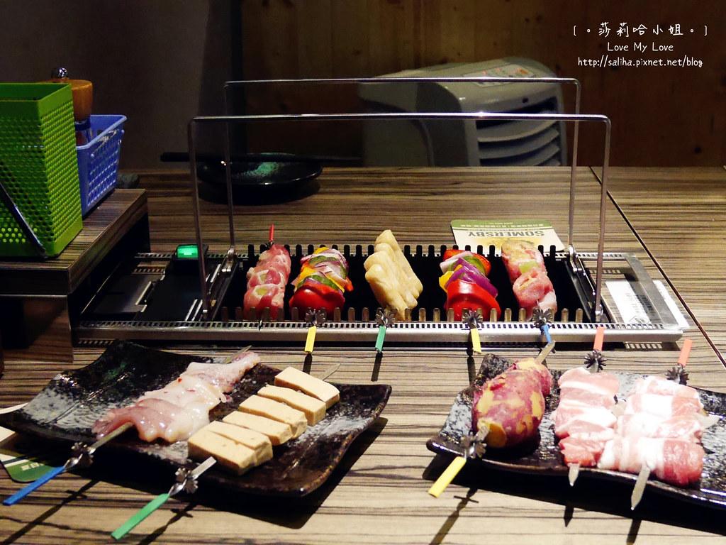 台北東區國父紀念館站談天自助燒烤串燒 (10)