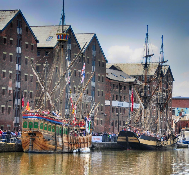 Gloucester Docks Tall Ship Festival. Credit Nilfanion