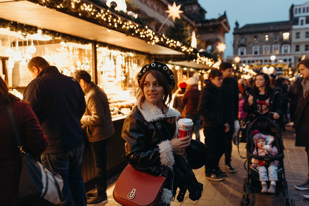 The Little Magpie Starbucks Christmas Cup Drinks Edinburgh Market
