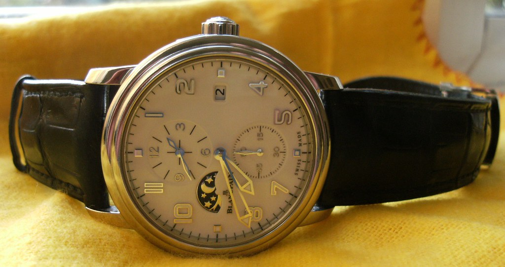 Blancpain Double Time zone