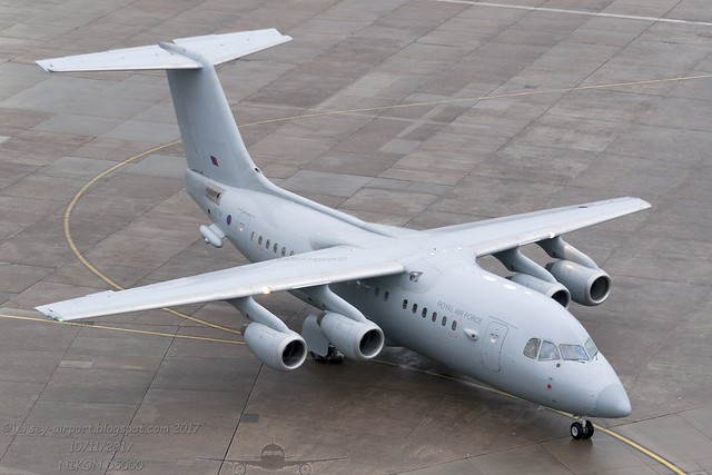 ZE708 British Aerospace 146-200QC (C.3)