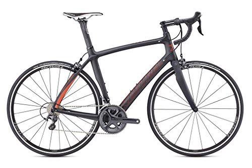 Kestrel RT-1000 Shimano Ultegra Endurance Road Bike, Large/56 cm, Satin Carbon/red Orange Review