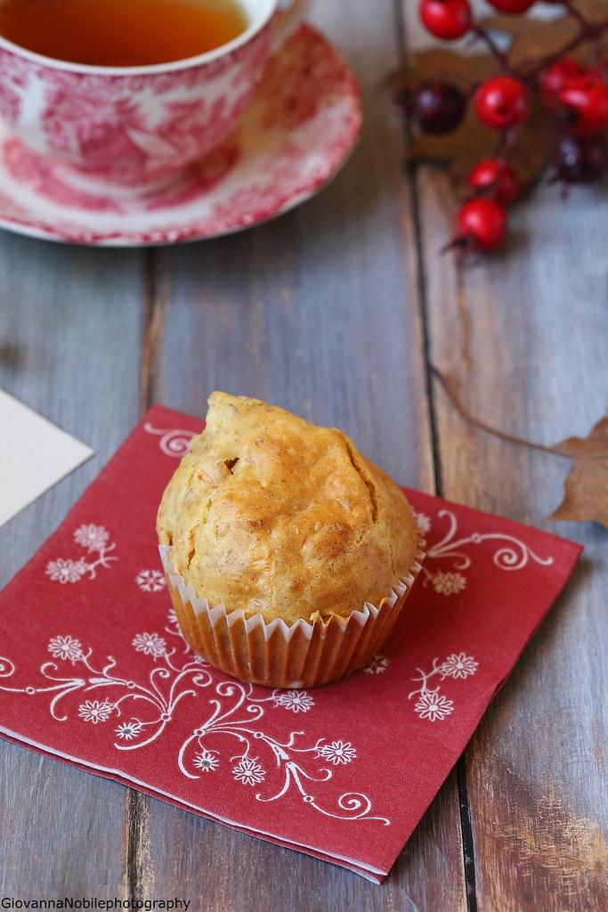 Muffin con carote e mandorle 5