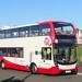 Stagecoach 15321 YN67YKE Paignton seafront 8 November 2017