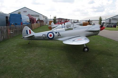 G-ISAC Isaacs Spitfire [LAA 027-15134] Sywell 010917