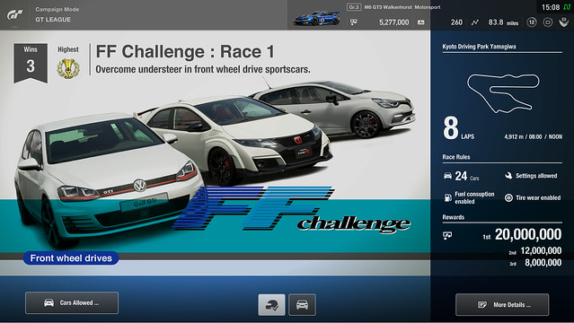 Gran Turismo Sport - GT League