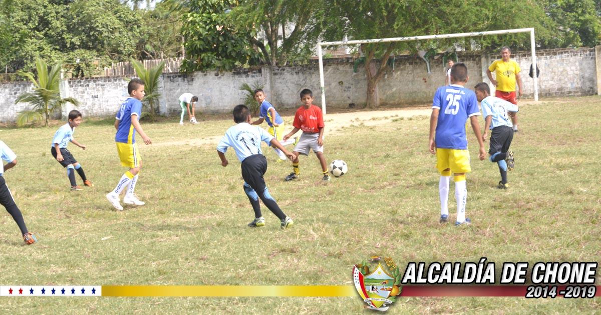 Continúa con normalidad el IV campeonato de fútbol Infanto juvenil de la Zona Norte de Manabí