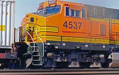 BNSF C44-9W No. 4537 At Hobart Yard