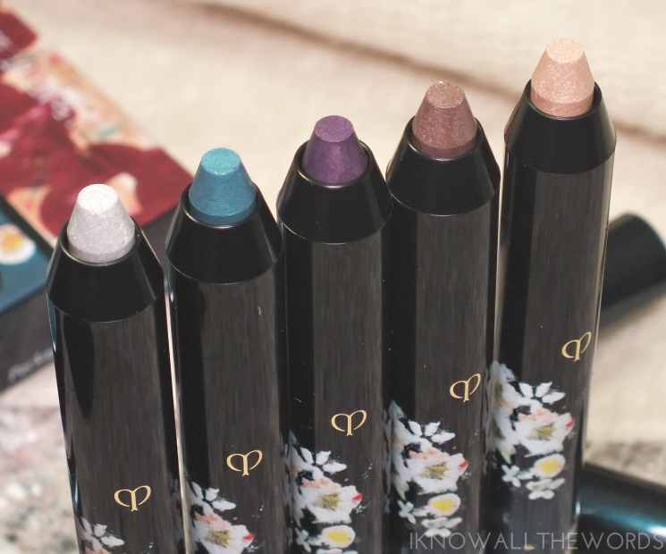 cle de peau nuit de chine eye colour pencils (3)