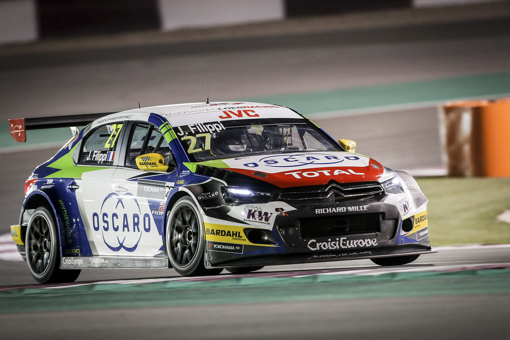 27 FILIPPI John, (fra), Citroen C Elysee team Sébastien Loeb Racing, action during the 2017 FIA WTCC World Touring Car Championship race at Losail  from November 29 to december 01, Qatar - Photo Francois Flamand / DPPI