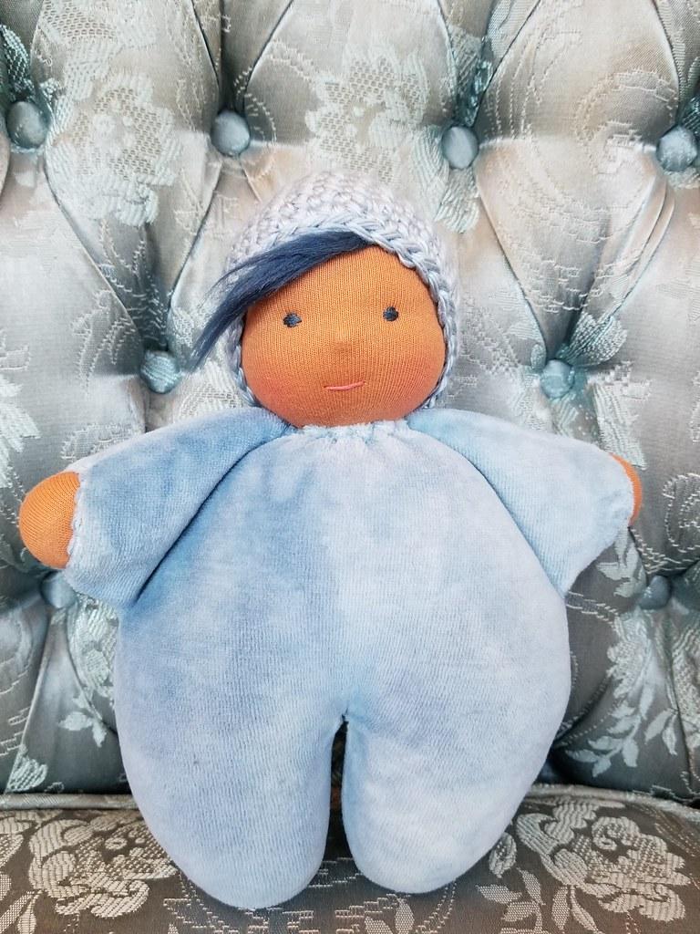Snuggle Baby #10 - Medium Blue