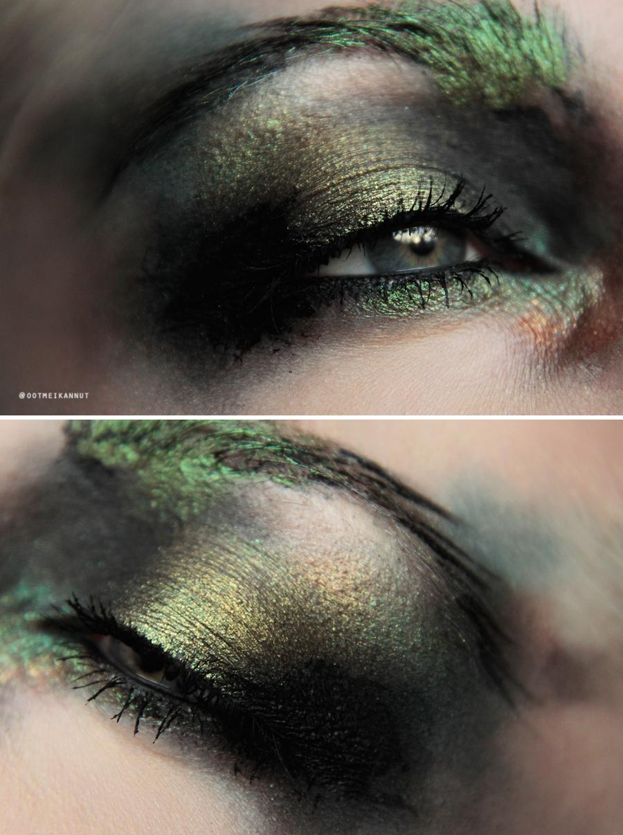 wood nymph makeup