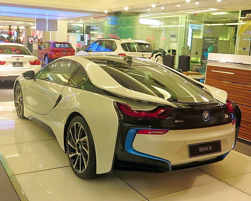 Siam Paragon Bangkok Super Cars