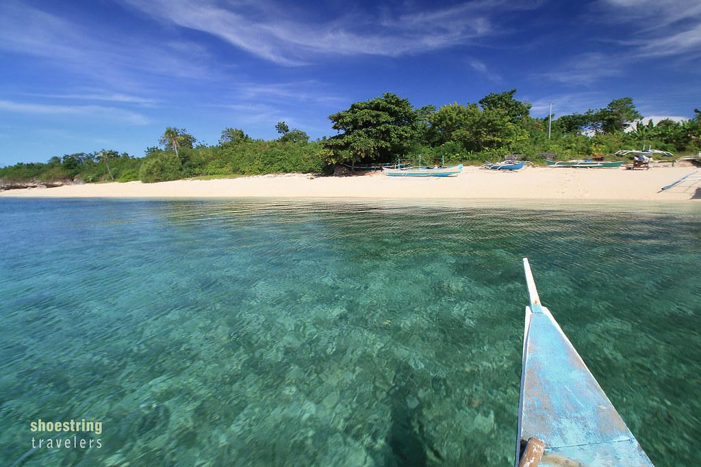 approaching Hilantagaan Island
