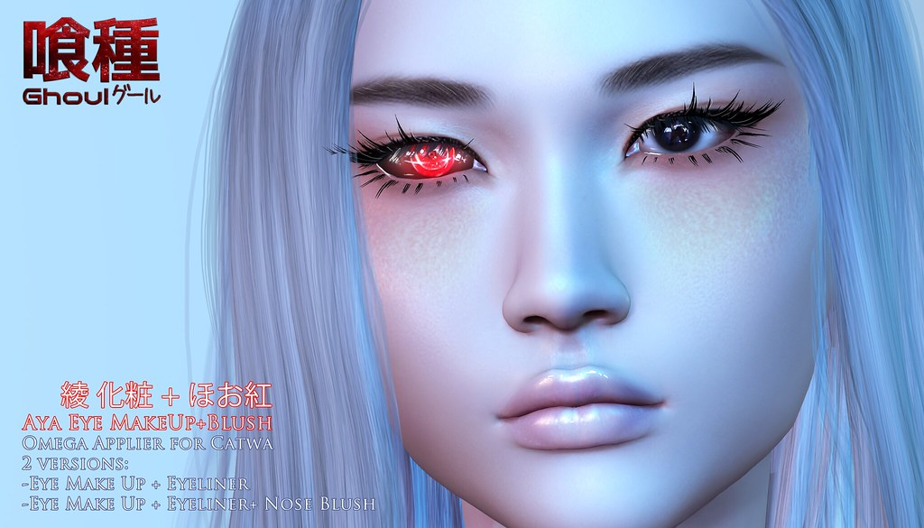 {Ghoul} Aya Make Up – Okinawa Gift :D