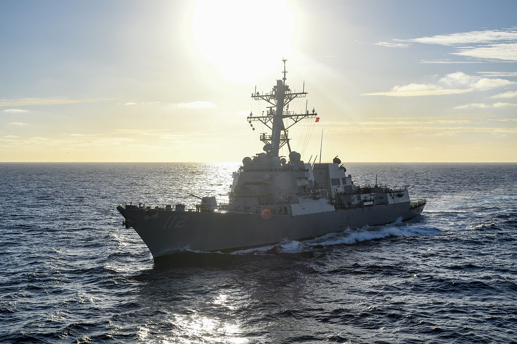 The guided-missile destroyer USS Michael Murphy (DDG 112) departed Pearl Harbor, Hawaii on Jan. 15, for a regularly scheduled deployment to the Western Pacific with the Carl Vinson Strike Group.