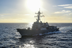 USS Michael Murphy (DDG 112) file photo. (U.S Navy/MC3 Kurtis A. Hatcher)