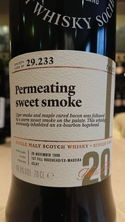 SMWS 29.233 - Permeating sweet smoke
