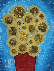 Sunflowers (original painting)