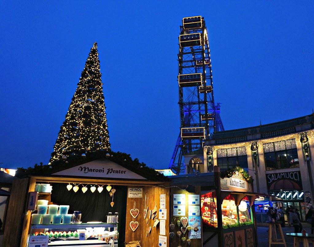Joulumarkkinat Wienissa