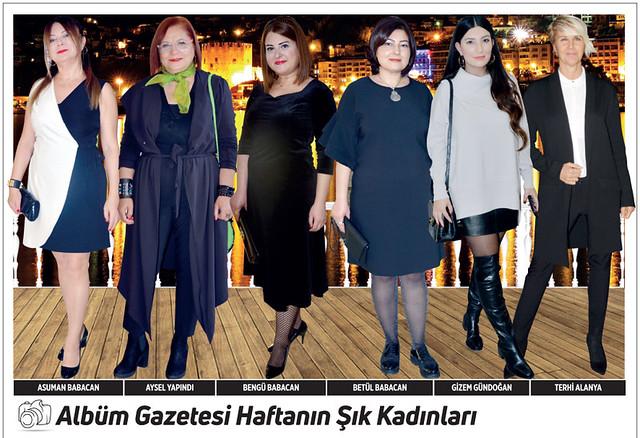 Asuman Babacan, Aysel Yapındı, Bengü Babacan, Betül Babacan, Gizem Gündoğan, Terhi Alanya