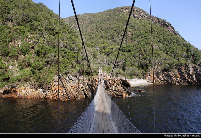 Suspension Bridge, Storms River, Tsitsikamma NP, South Africa