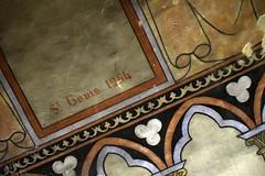 In the crypt, Basilique de Notre Dame, Boulogne-sur-Mer