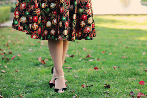 Retrolicious Madison Skirt in Ornaments