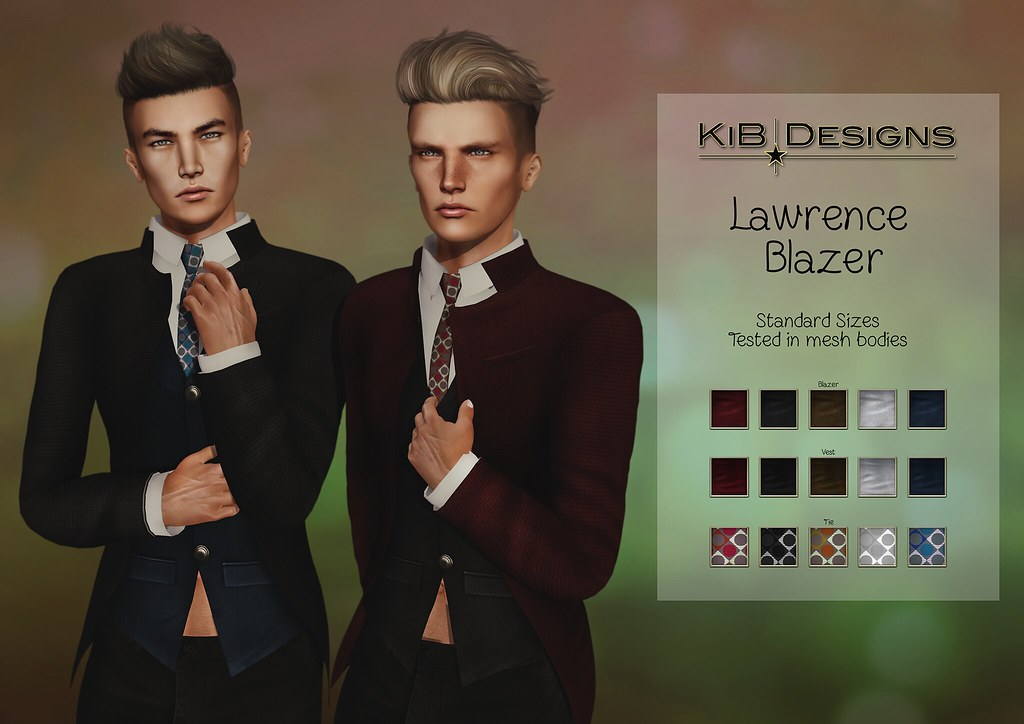 KiB Designs – Lawrence Blazer @TMZ Event