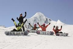 Děti chtějí na snowboard, rodiče neví