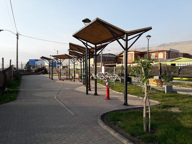 Áreas Verdes - Parque Toconao - Barrio Alborada – Arica - Región de Arica y Parinacota