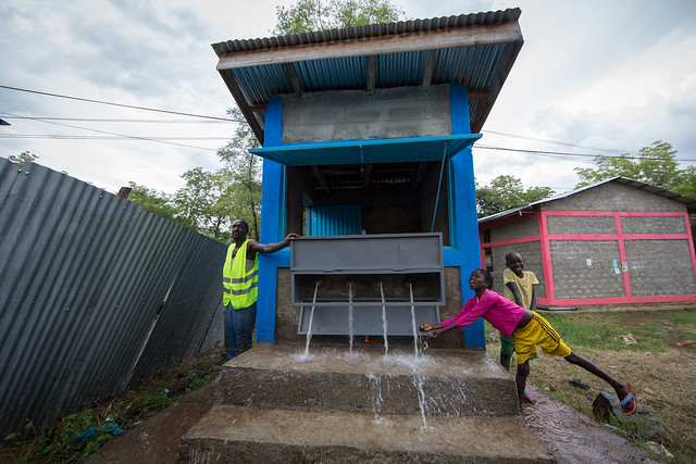 Itang water scheme supported by Italian Agency for Development Cooperation