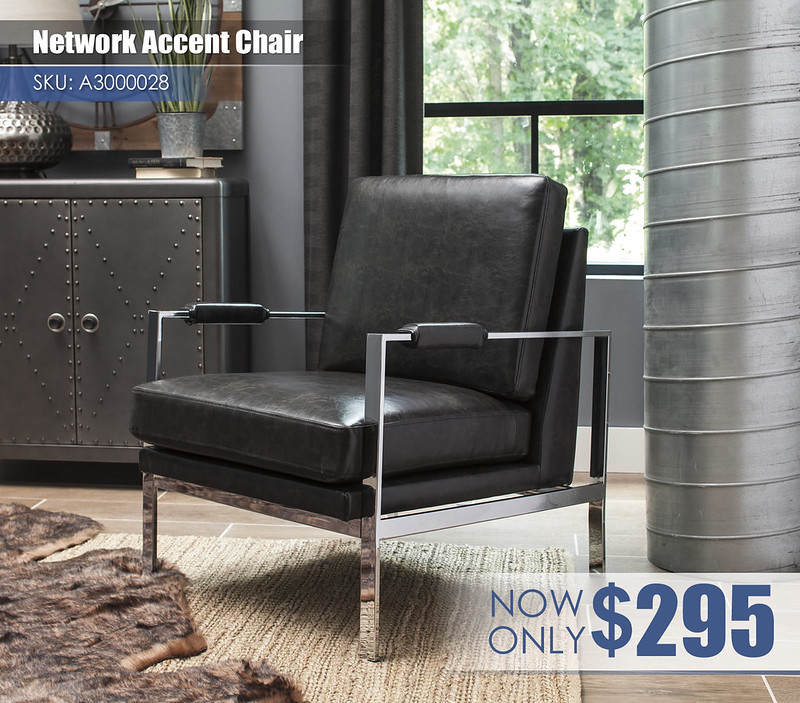 A3000028 - Network Accent Chair $295