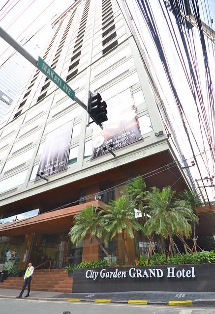 City Garden Grand Hotel facade