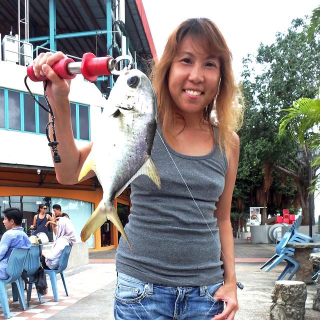 Look! I Caught A Fish!