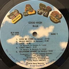 BRICK:GOOD HIGH(LABEL SIDE-A)