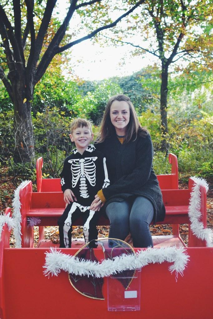 Halloween M Mummy sleigh