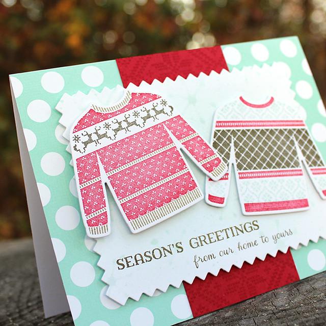 Season's Greetings Sweaters Card 3